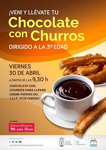 Chocolatada Feria Huércal de Almería