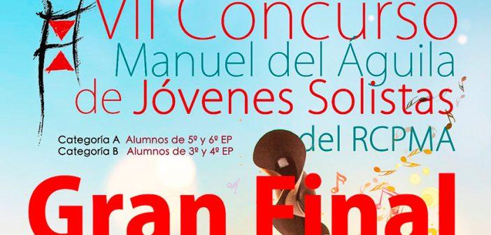 """Final de su VII Concurso """"Manuel del Águila"""" de Jóvenes Solistas"""