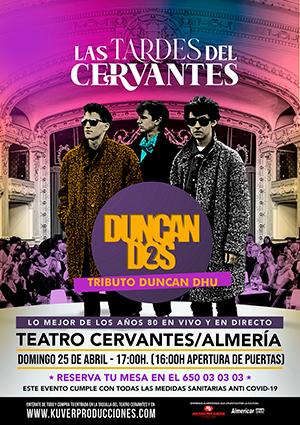 """Las tardes del Cervantes"" DUNCAN DHU"