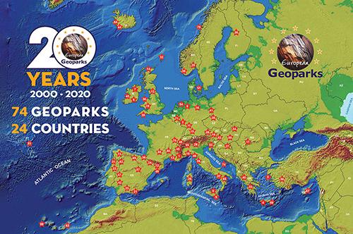 Geoparques Europeos