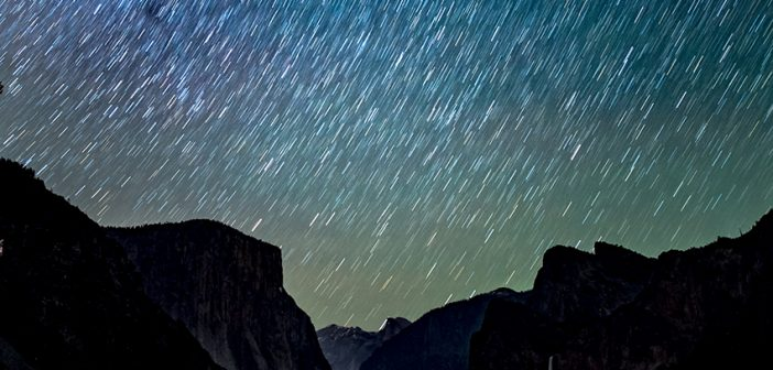 Lluvia de estrellas en el cielo de Almería