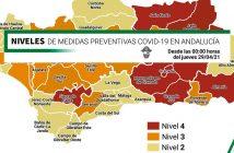 Nuevas medidas COVID-19 en Almería - 29 Abril 2021