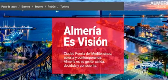 Nuevo visor web de movilidad de la ciudad de Almería