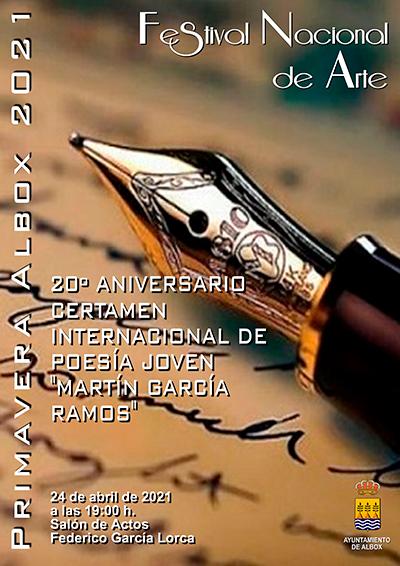 POESIA 2021 50º Festival Nacional de Arte de Albox