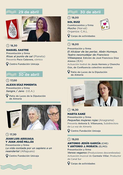 Feria del Libro de Almería 2021