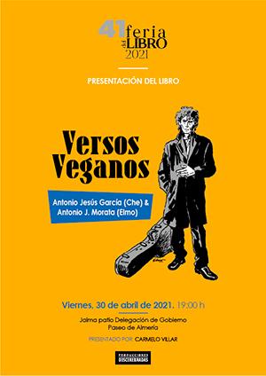 Versos Veganos Feria del Libro de Almería 2021