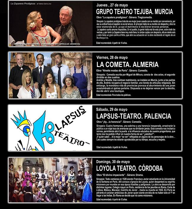 50 Certamen Nacional de Teatro Aficionado de Albox