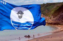 Banderas azules de las playas de Almería