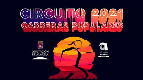 CIRCUITO DE CARRERAS POPULARES DIPUTACIÓN DE ALMERÍA 2021