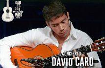 Concierto de guitarra David Caro