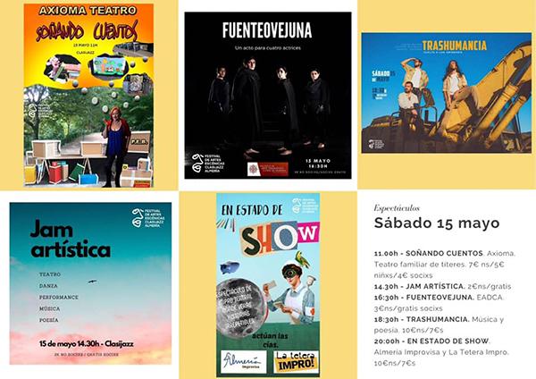 FESTIVAL DE ARTES ESCÉNICAS DE CLASIJAZZ
