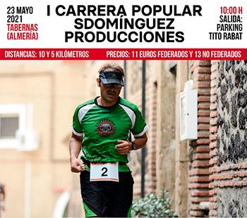 """I Carrera Popular """"Villa de Tabernas"""""""