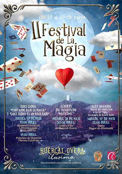 II Festival de la Magia en Huércal Overa