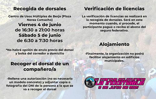 Marcha Cicloturista La Indomable 2021