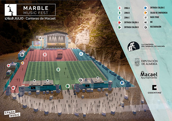 RECINTO MARBLE MUSIC FEST