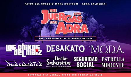 The Juergas Live Adra 2021