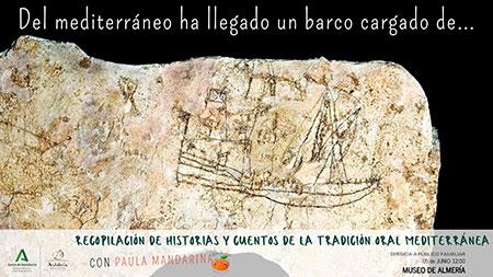 Del mediterráneo ha llegado un barco cargado de...