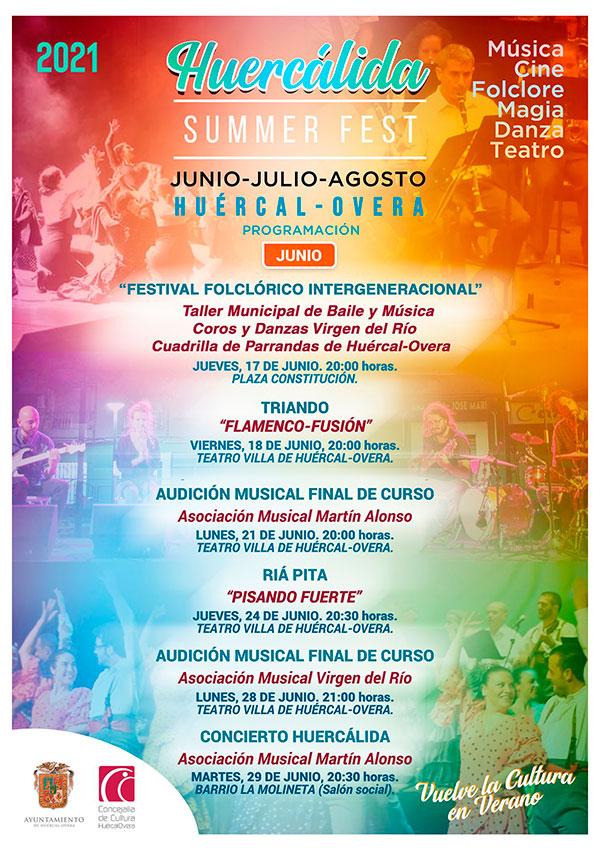 Huercálida Summer Fest 2021 - Huércal-Overa