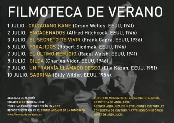 FILMOTECA DE VERANO - Alcazaba de Almería