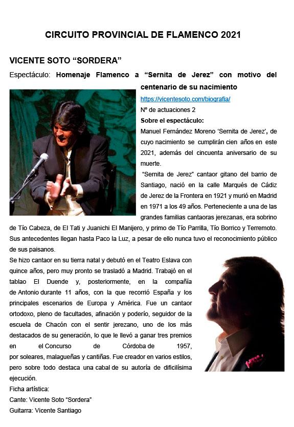 Circuito Provincial de Flamenco Almería
