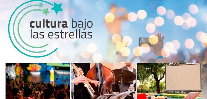 Programación cultural'Cultura bajo las estrellas' – Diputación de Almería