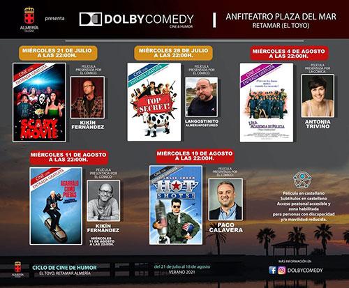 Dolby Comedy Almería