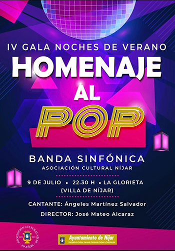 IV Gala Noche de Verano homenaje al Pop