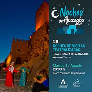 Noches de VisitasTeatralizadas CM Alcazaba