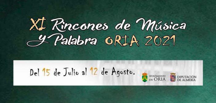 RINCONES DE MÚSICA Y PALABRA ORIA 2021