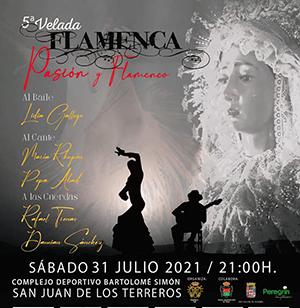"Velada flamenca ""PASIÓN Y FLAMENCO"""