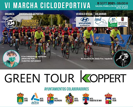 VI Marcha Ciclodeportiva 'Green Tour Koppert'
