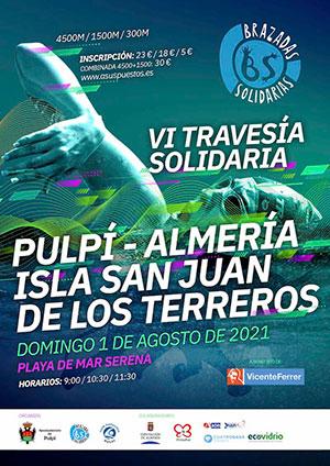 VI Travesía a Nado Isla San Juan de los Terreros 2021