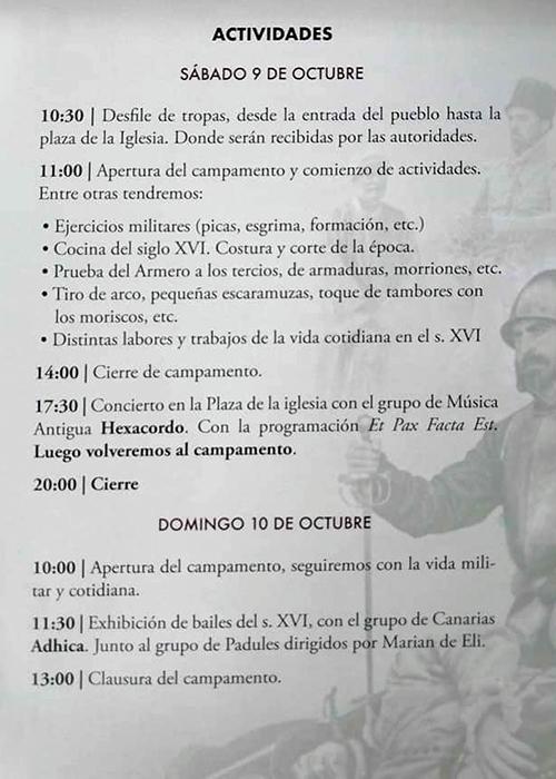 Recreación Histórica Paz De La Alpujarra Padules 2021