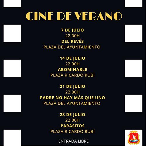 Dalías cine de verano