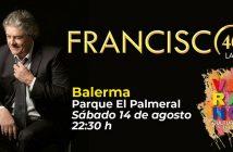 Francisco en concierto en Balerma