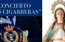 """Banda de Música María Santísima de la Victoria """"Las Cigarreras"""" en Roquetas de Mar."""