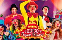 Cantajuego: el circo del Payaso Tallarín en Berja