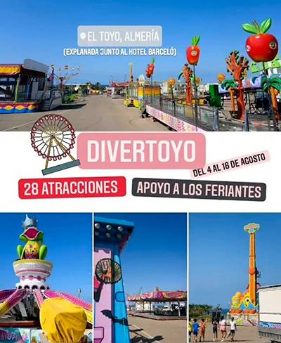 Divertoyo Parque de atracciones en Almería