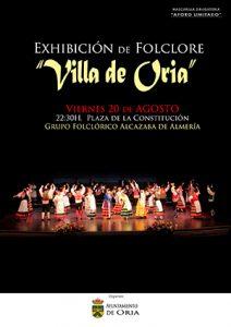 Exhibición de folklore Villa de Oria