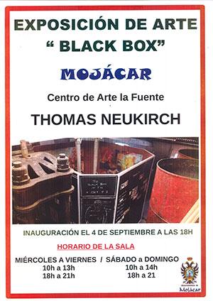 Black Box Exposicion Thomas Neukirch