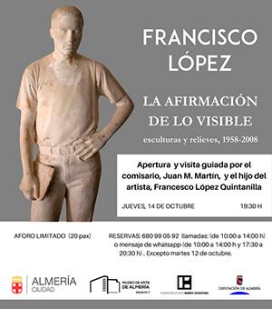 FRANCISCO LÓPEZ LA AFIRMACIÓN DE LO VISIBLE