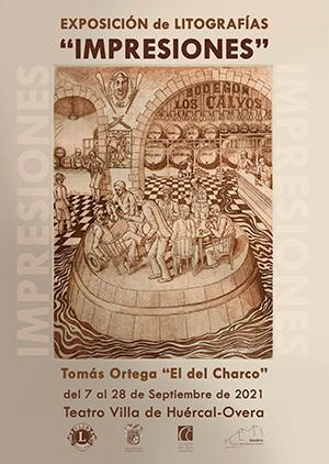 """Exposición de litografías. """"IMPRESIONES"""" - Tomás Ortega el del Charco."""
