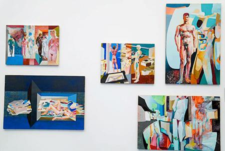Armonías de color exposición de Ramiro Sanz