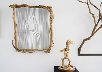 Terra Humano exposición de arte