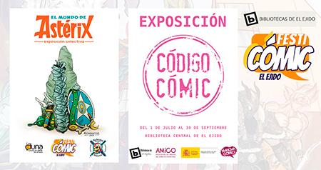 Festicómic El Ejido 2021 exposiciones