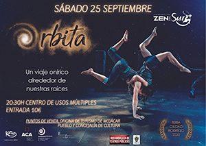 Órbita espectáculo Carlos López y Noemí Pareja