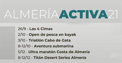 Almería Activa 2021 - Diputación de Almería