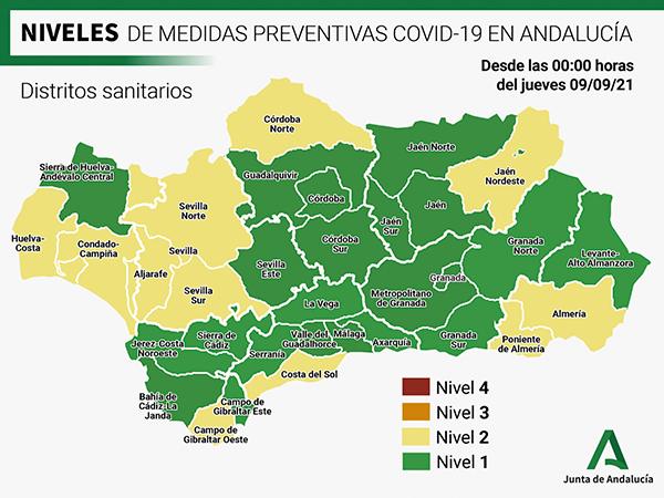 Andalucía mapa
