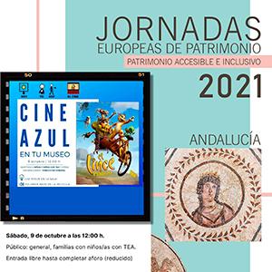 Cine Azul - Jornadas Europeas de Patrimonio 2021 en Almería