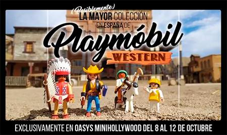 Exposición Playmobil Western